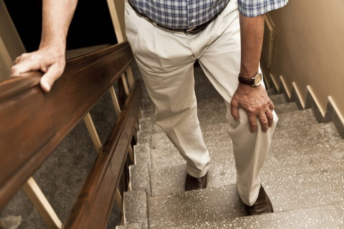 Walking-Stairs-with-Bad-Knee-iStock-181879982-710x473