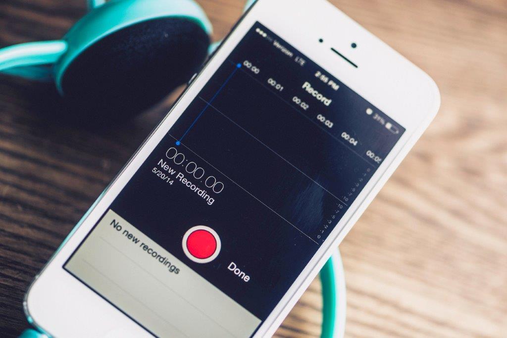 Listening device secret recording