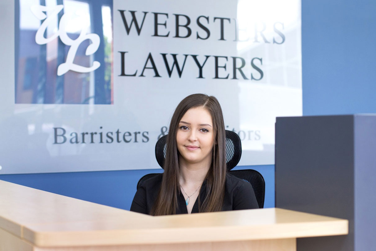 websters lawyers adelaide law firm reception